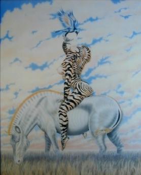 Zebra Lady 2